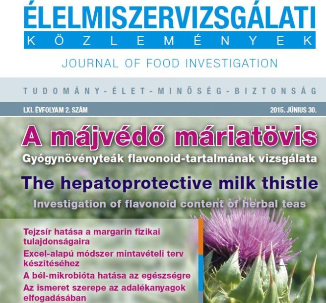 Our scientific journal of food investigation